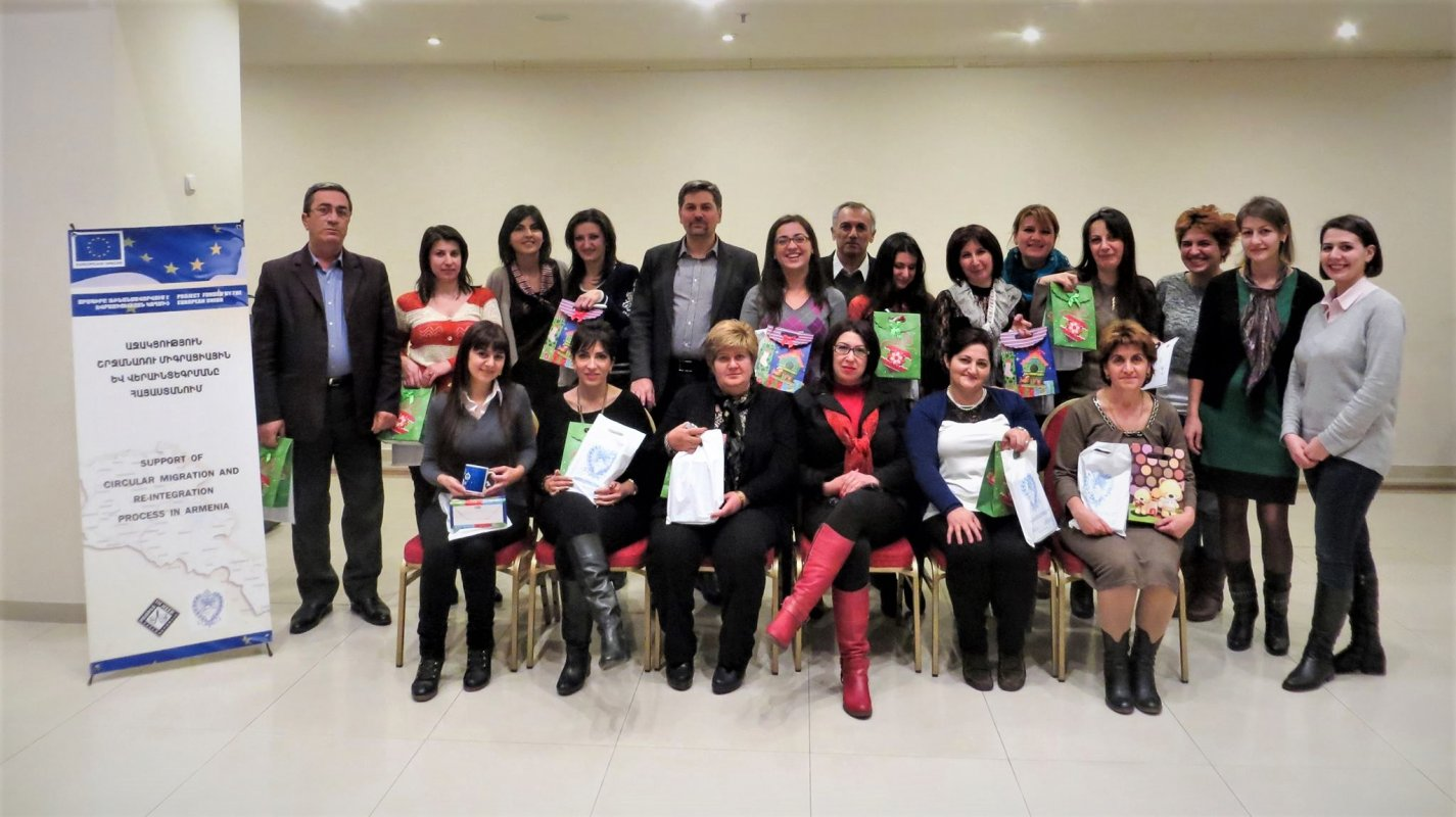 Support of Circular Migration and Re-integration Process in Armenia